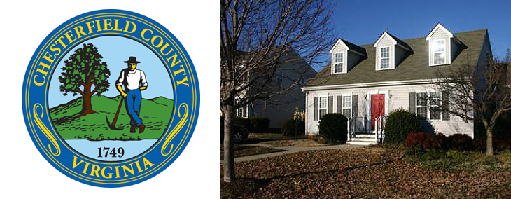 Chesterfield county home logo